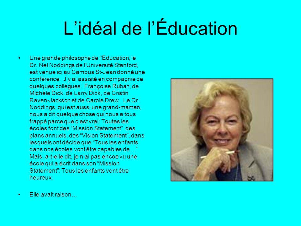 L'idéal de l'Éducation