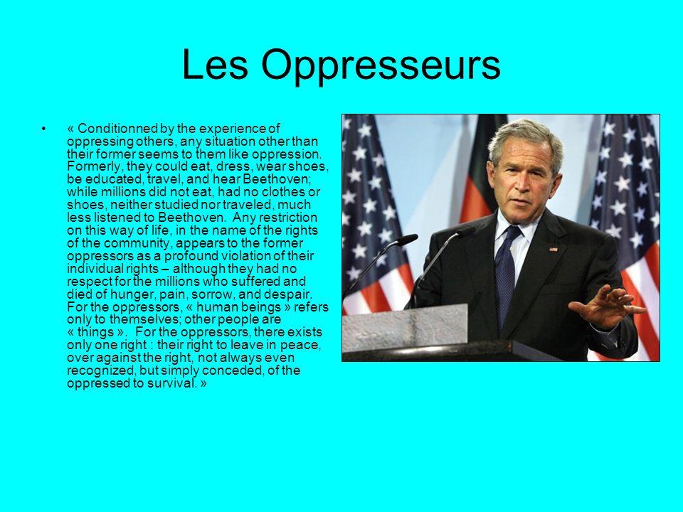 Les Oppresseurs
