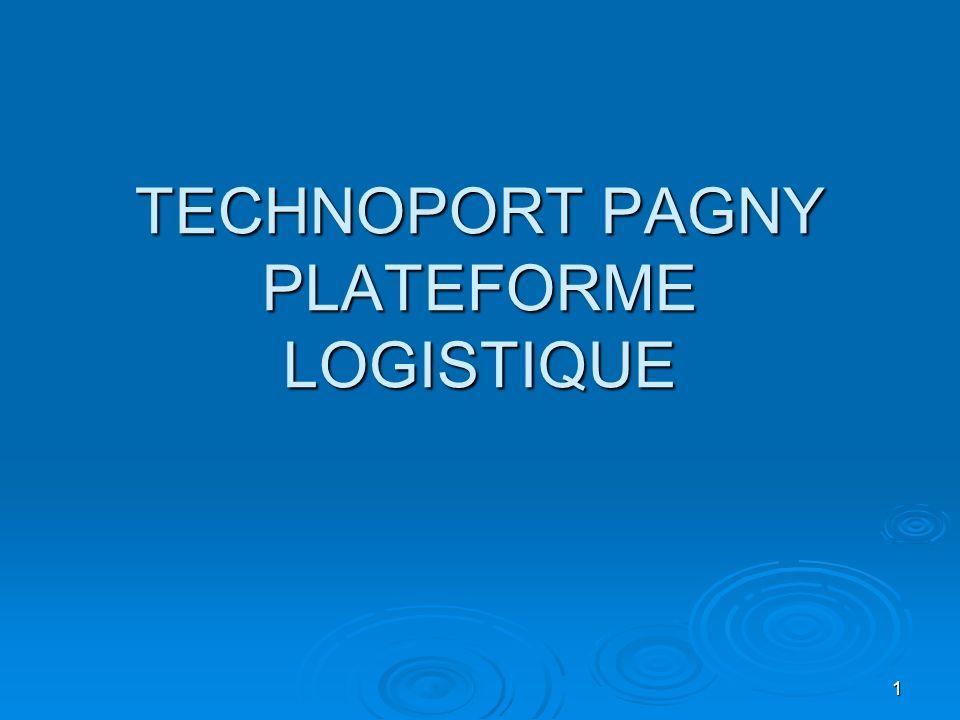 TECHNOPORT PAGNY PLATEFORME LOGISTIQUE