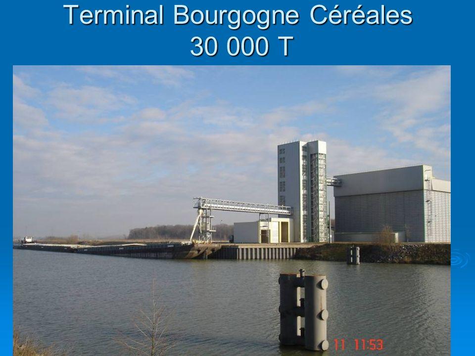 Terminal Bourgogne Céréales 30 000 T