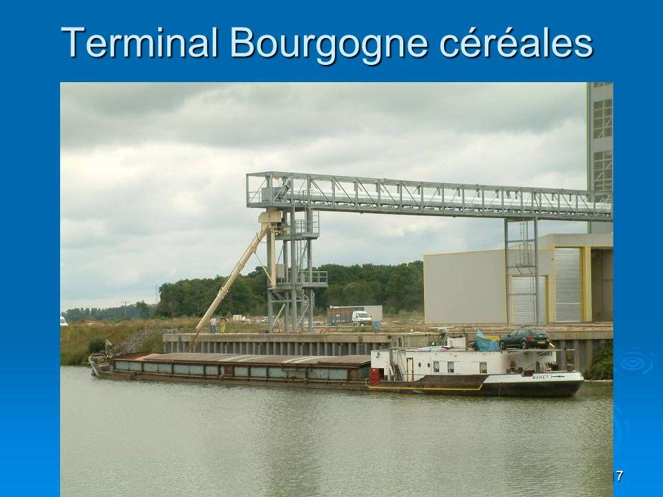 Terminal Bourgogne céréales
