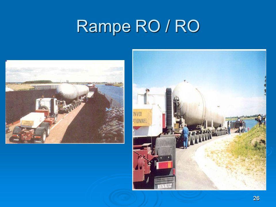 Rampe RO / RO