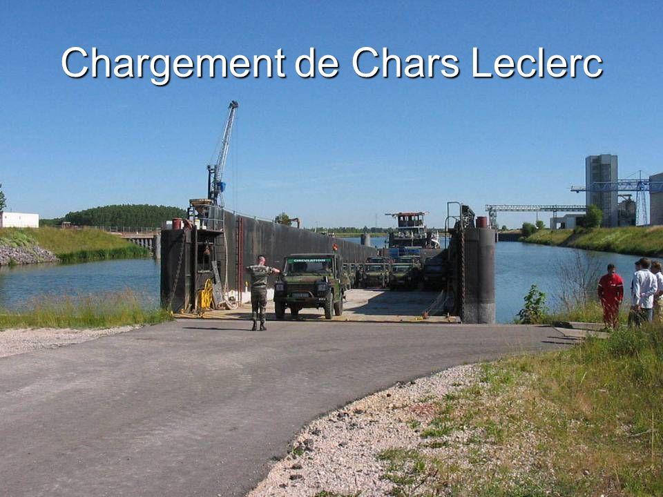 Chargement de Chars Leclerc