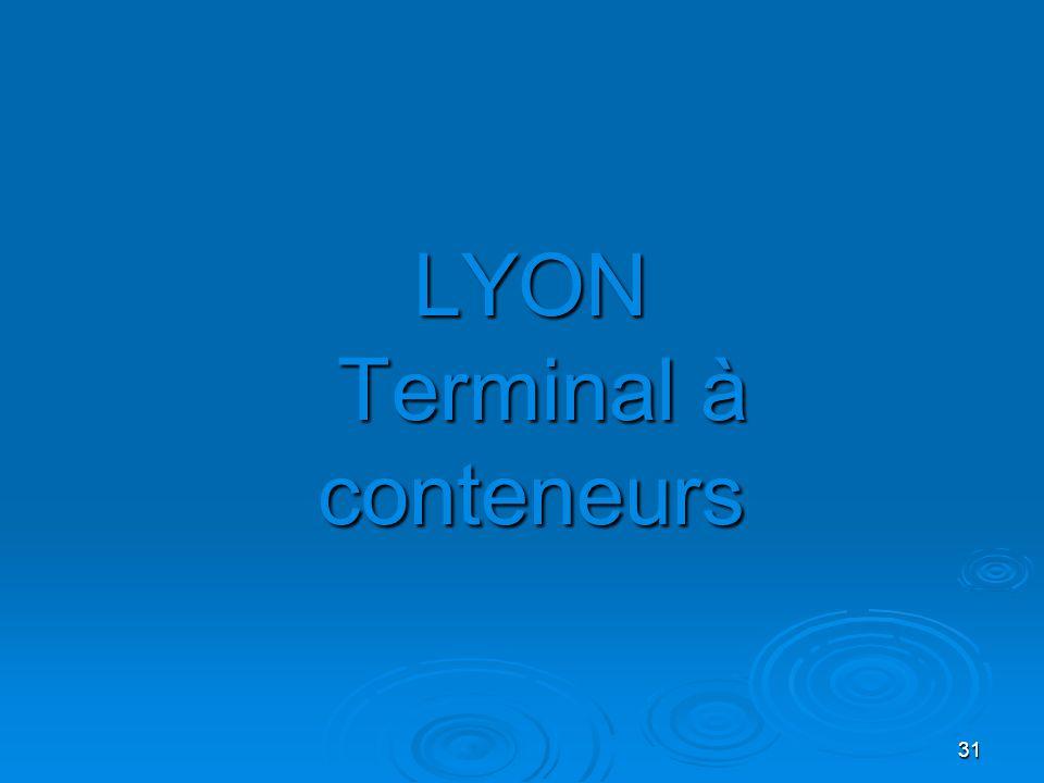 LYON Terminal à conteneurs
