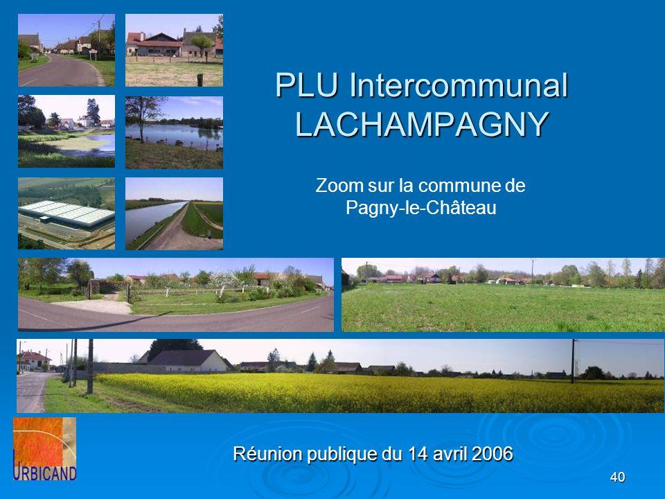 PLU Intercommunal LACHAMPAGNY