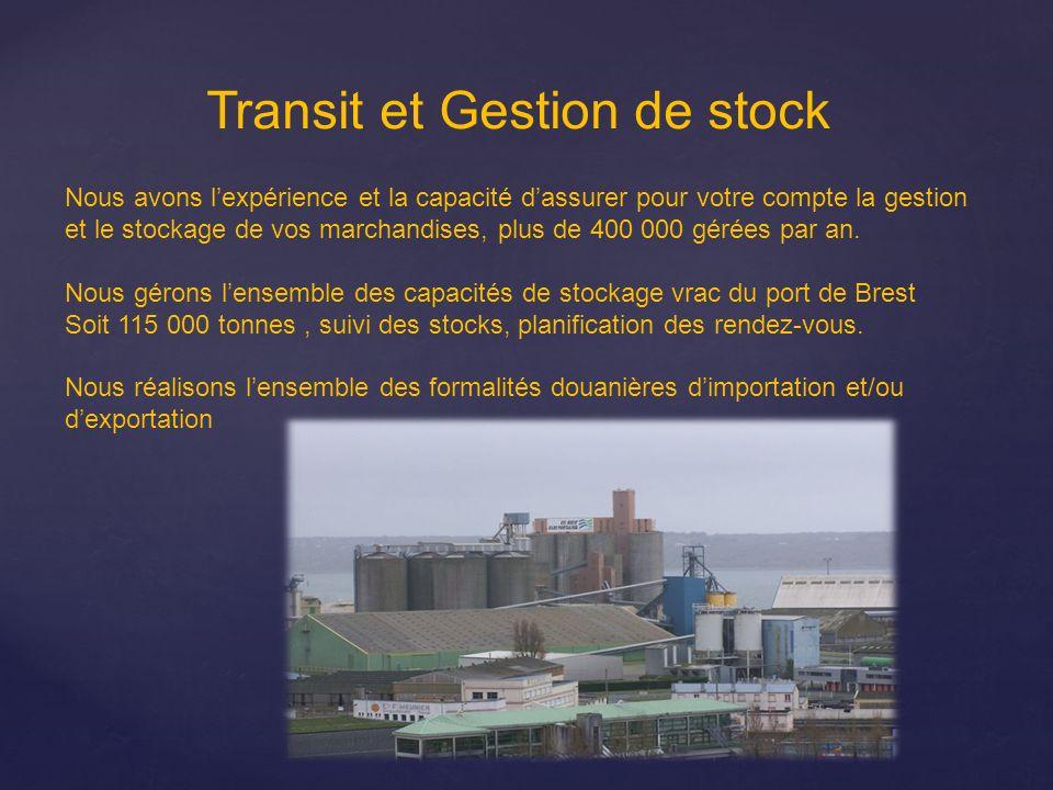 Transit et Gestion de stock