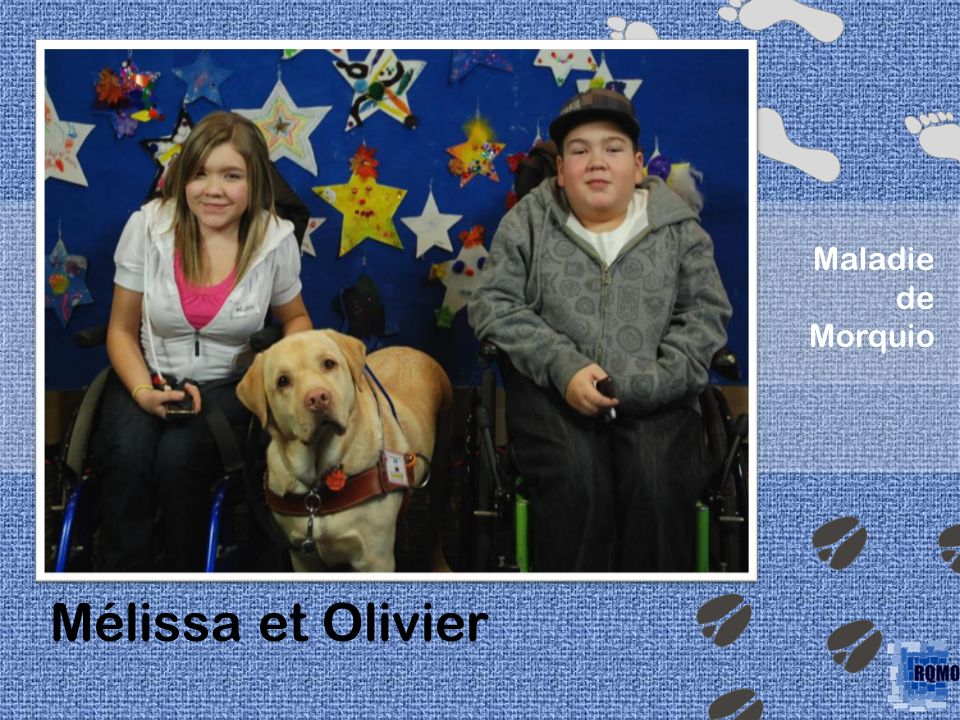' Maladie de Morquio Mélissa et Olivier