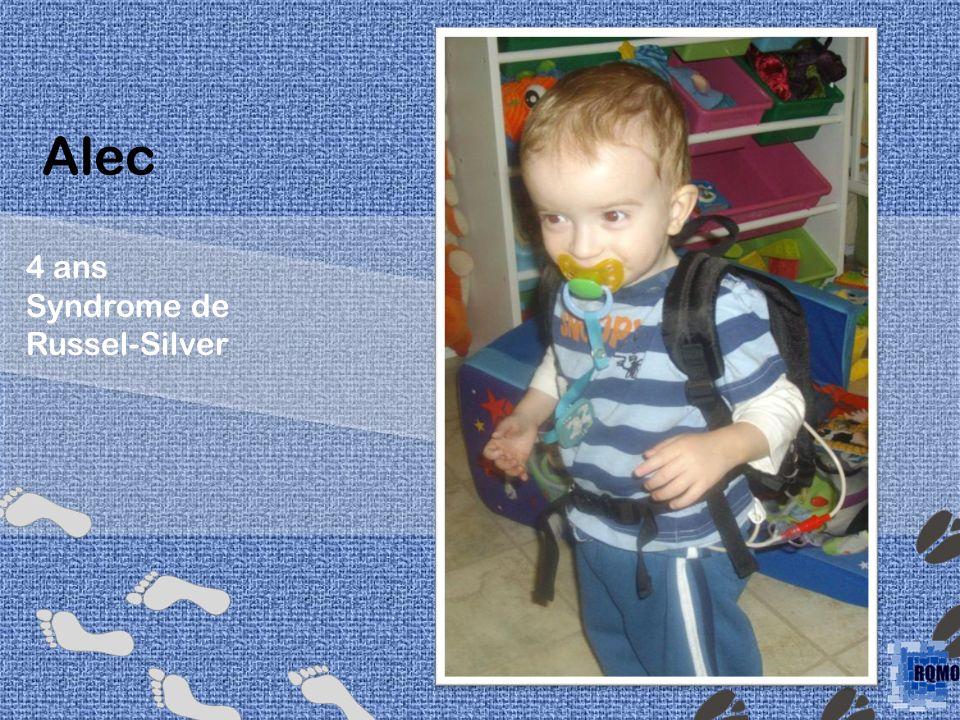 Alec 4 ans Syndrome de Russel-Silver