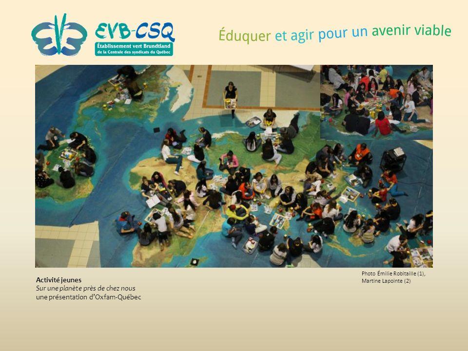 Sur une planète près de chez nous une présentation d'Oxfam-Québec