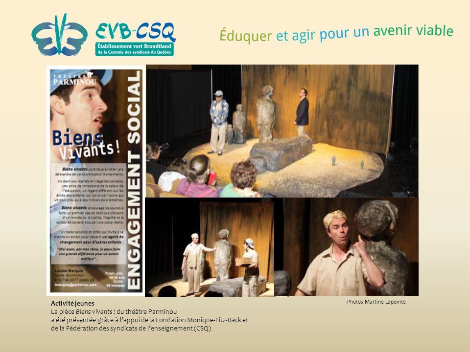 La pièce Biens vivants ! du théâtre Parminou