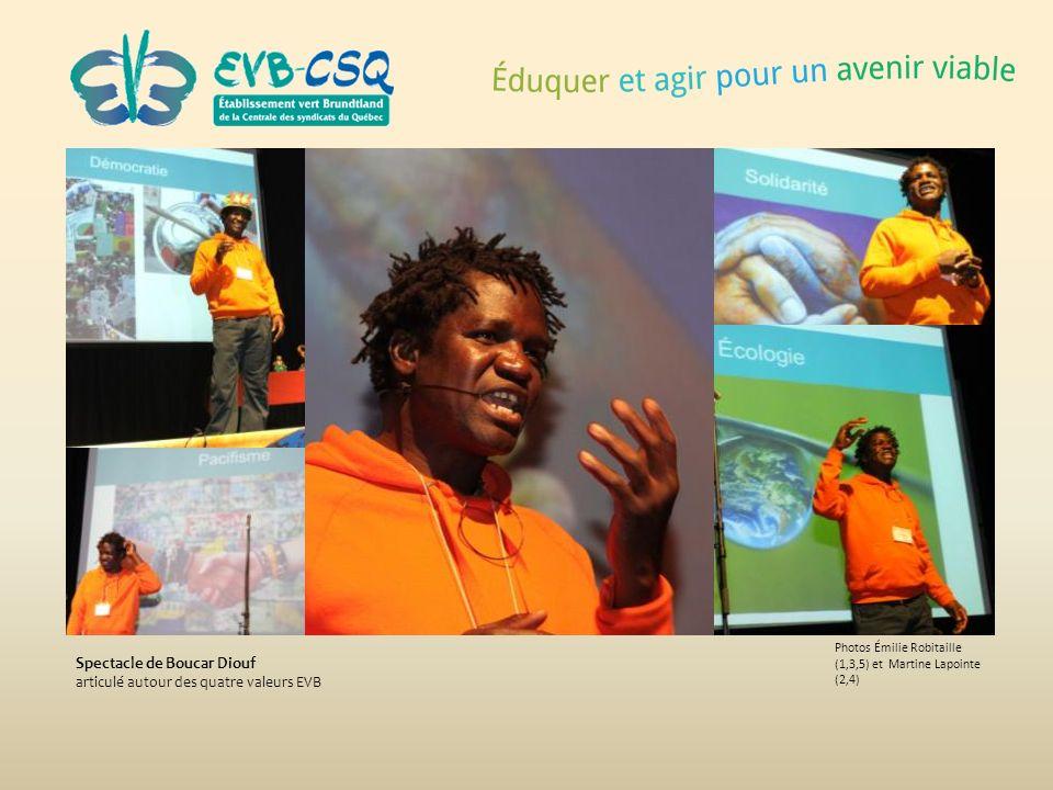 Spectacle de Boucar Diouf