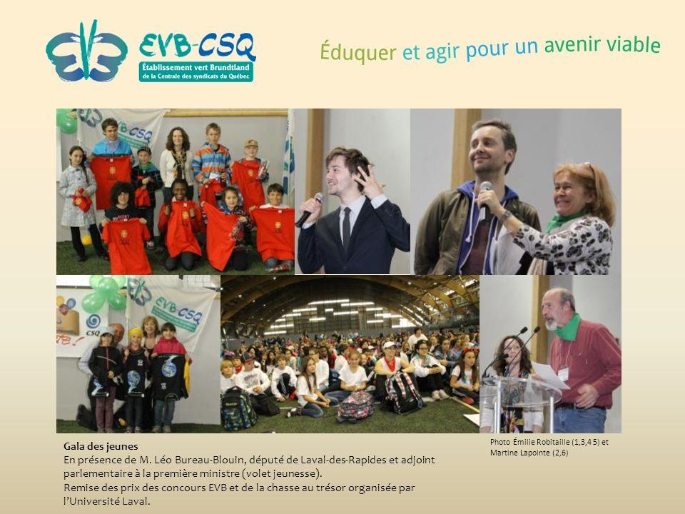 Gala des jeunes En présence de M. Léo Bureau-Blouin, député de Laval-des-Rapides et adjoint parlementaire à la première ministre (volet jeunesse).