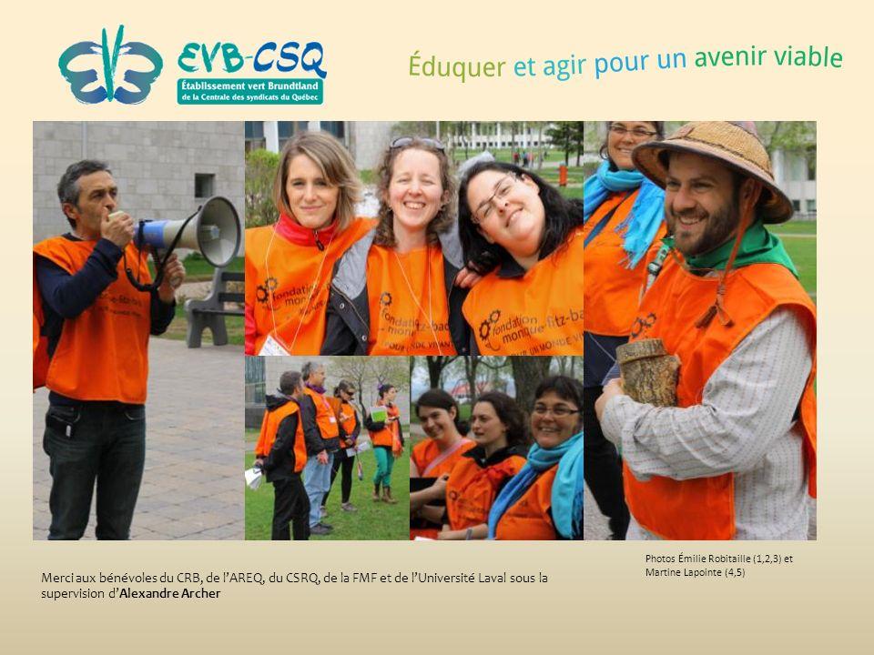Photos Émilie Robitaille (1,2,3) et Martine Lapointe (4,5)