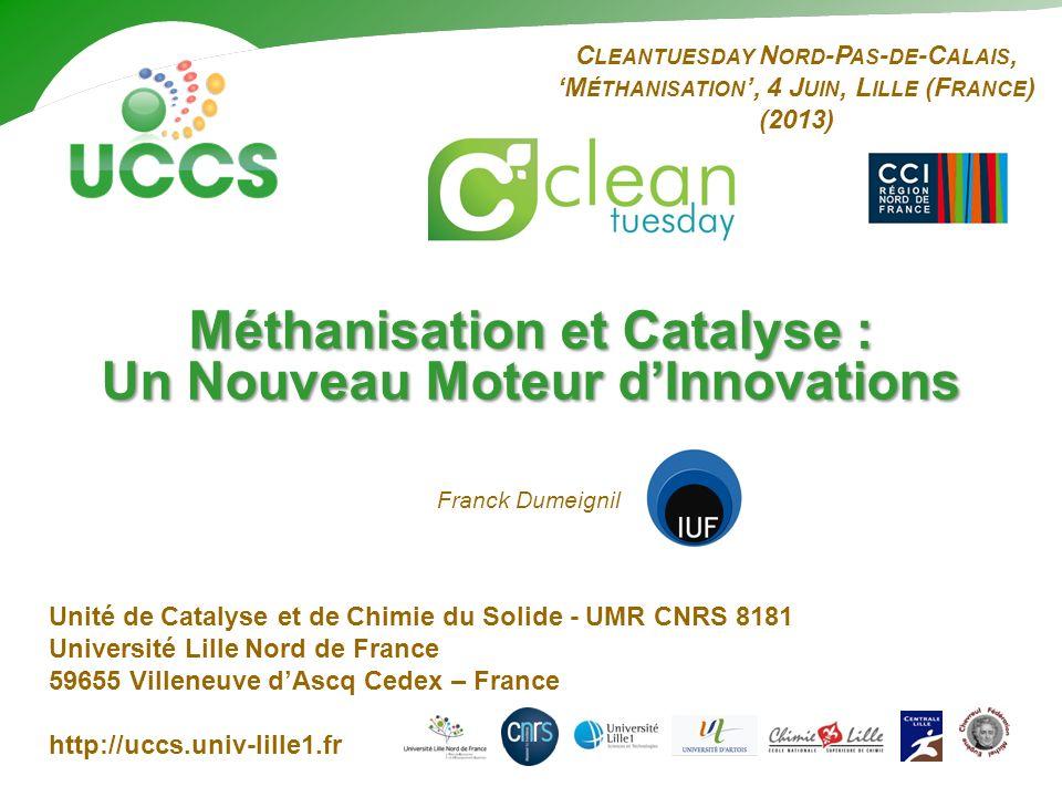 Méthanisation et Catalyse : Un Nouveau Moteur d'Innovations
