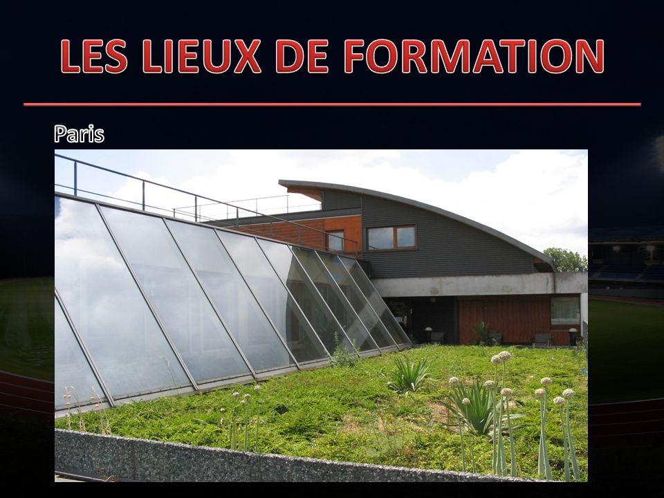 LES LIEUX DE FORMATION Paris 1 1