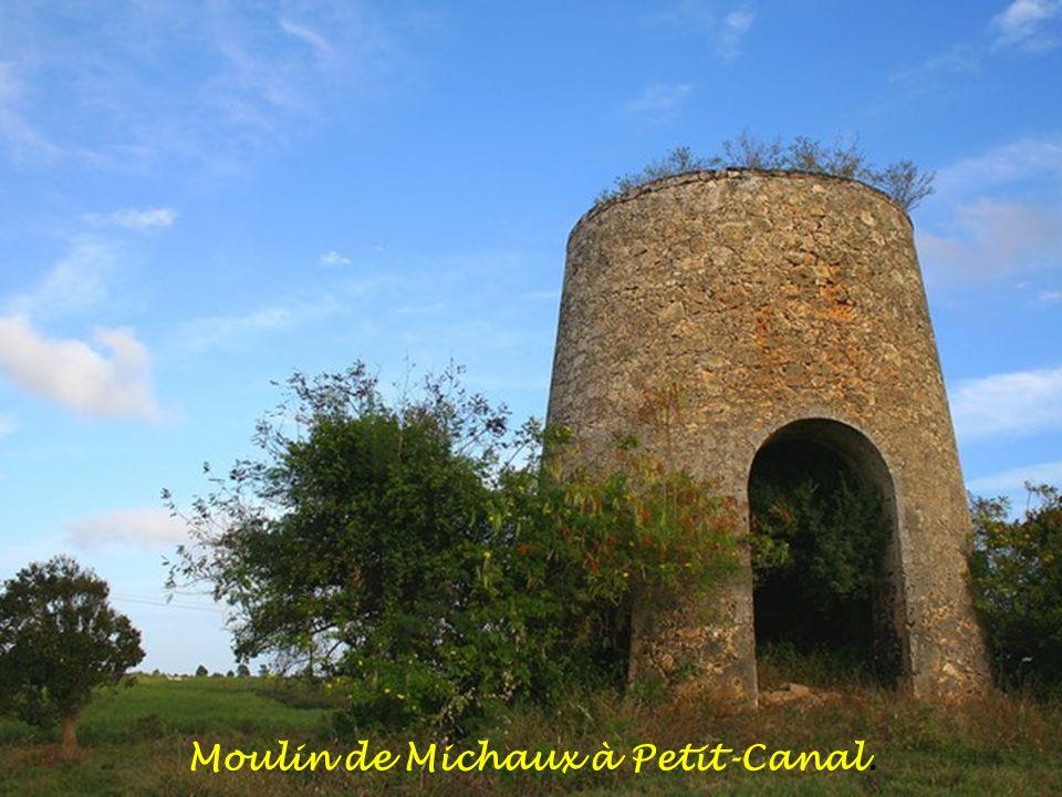 Moulin de Michaux à Petit-Canal.