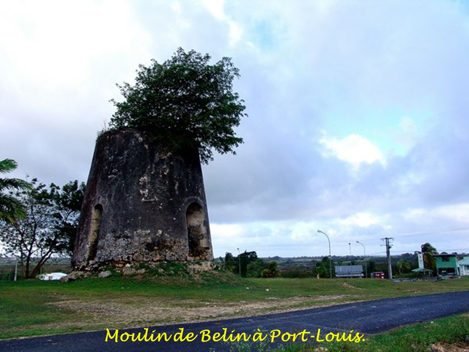 Moulin de Belin à Port-Louis.