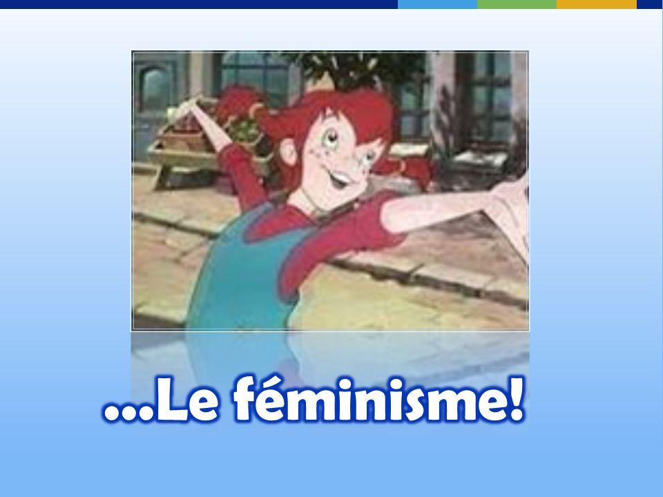 Ici pour faire le lien ajouter trois ti-points … avant le féminisme