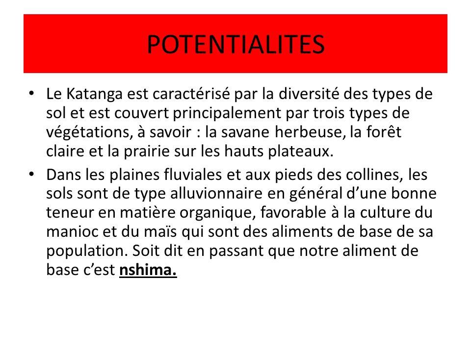 POTENTIALITES