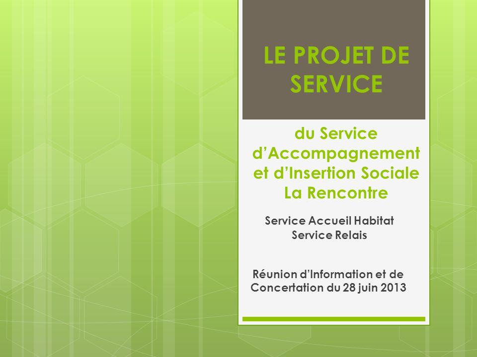 Service Accueil Habitat Service Relais