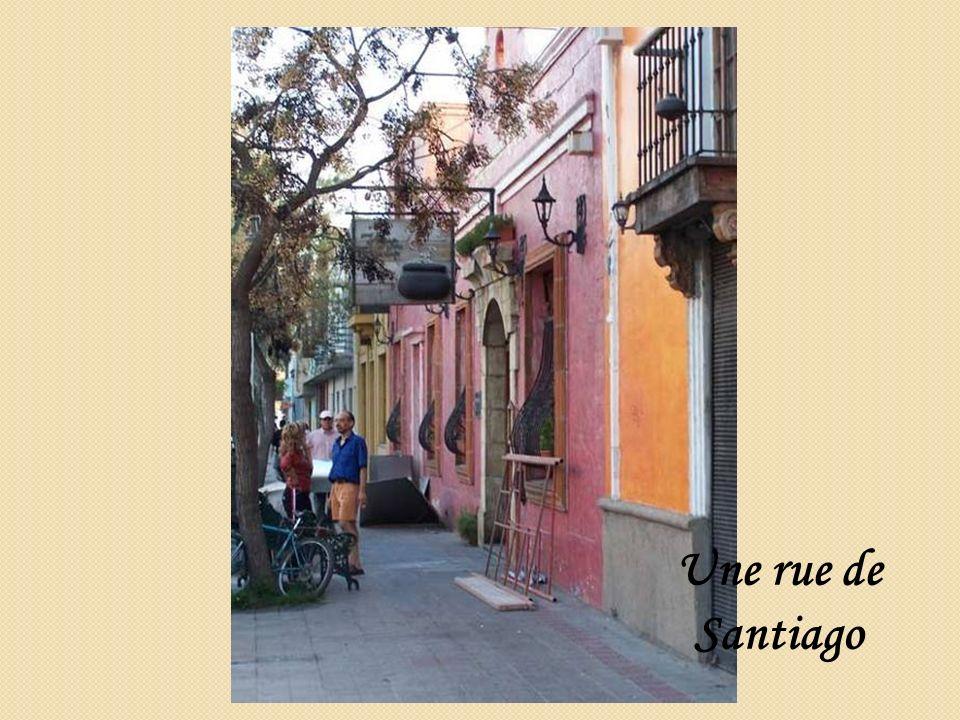 Une rue de Santiago