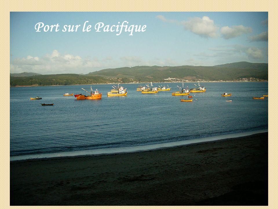 Port sur le Pacifique