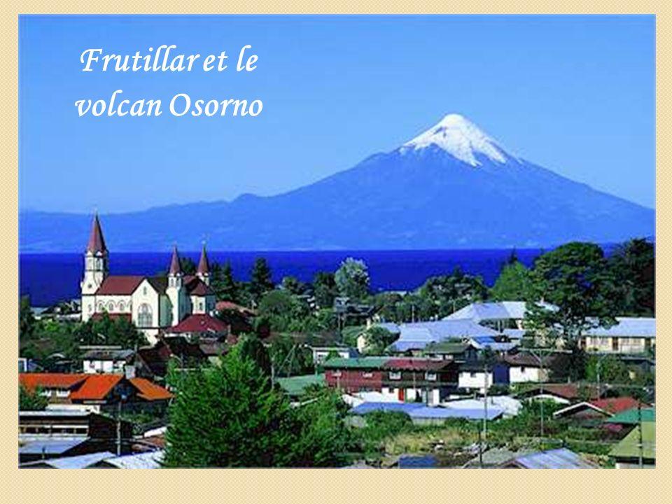 Frutillar et le volcan Osorno