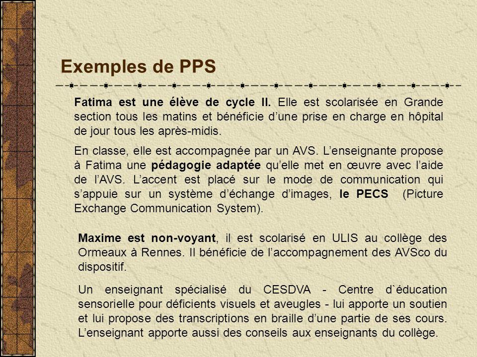 Exemples de PPS