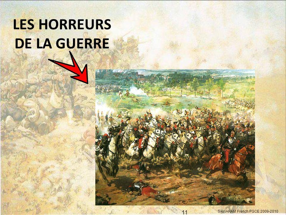 LES HORREURS DE LA GUERRE