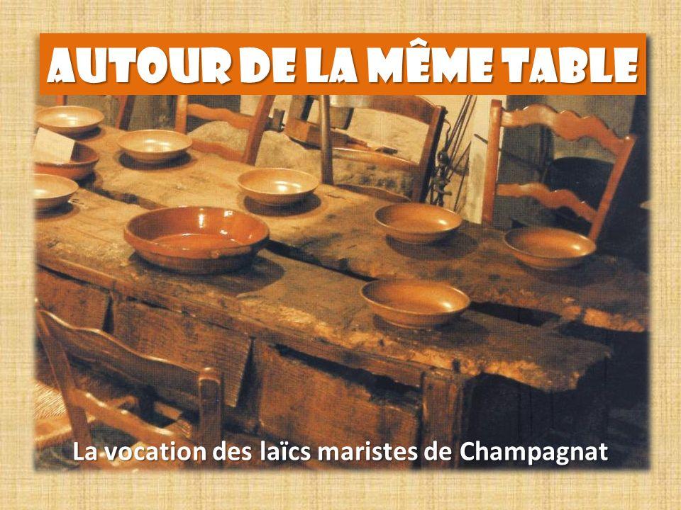 La vocation des laïcs maristes de Champagnat