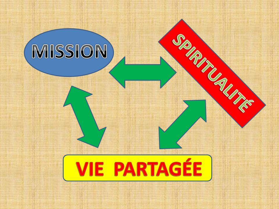 MISSION SPIRITUALITÉ VIE PARTAGÉE