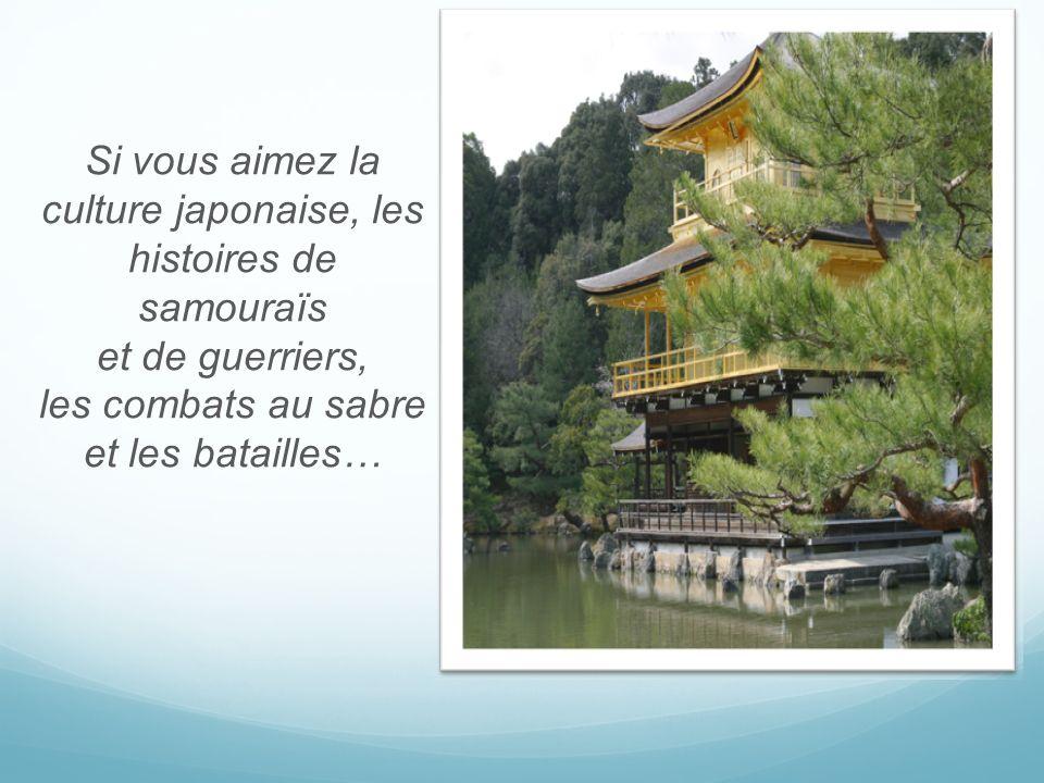 Si vous aimez la culture japonaise, les histoires de samouraïs et de guerriers, les combats au sabre et les batailles…