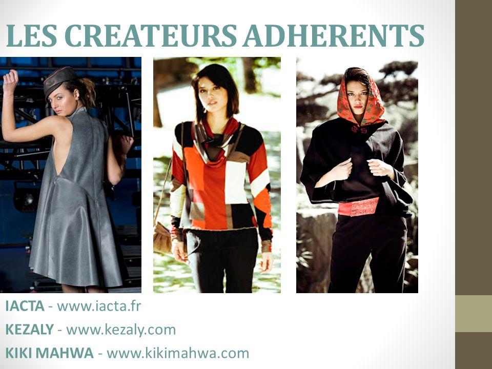 LES CREATEURS ADHERENTS