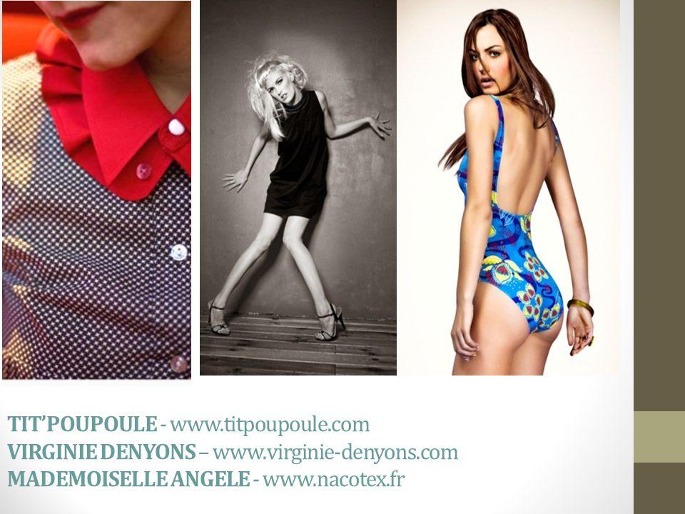 TIT'POUPOULE - www. titpoupoule. com VIRGINIE DENYONS – www