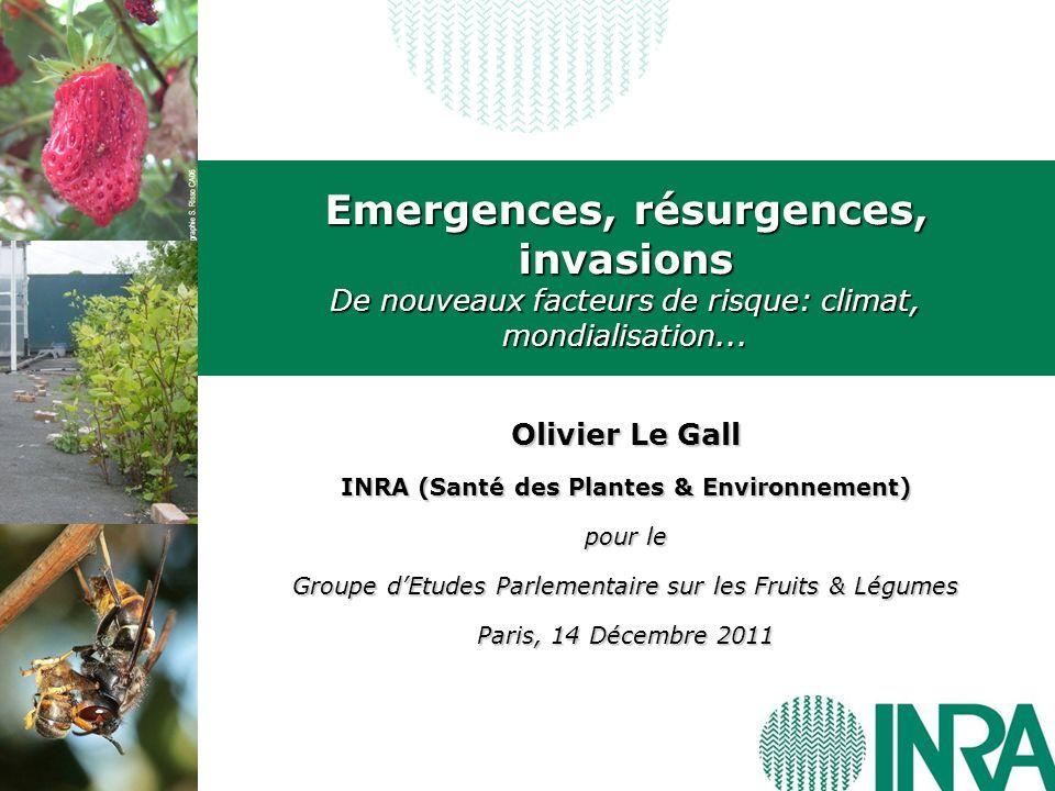 INRA (Santé des Plantes & Environnement)