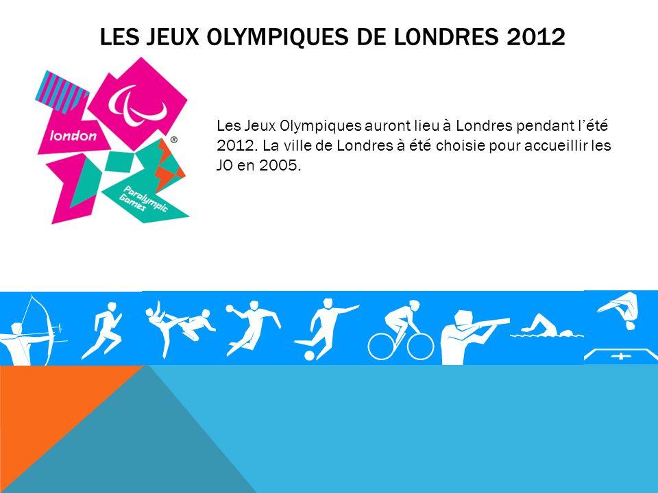 Les jeux Olympiques de Londres 2012