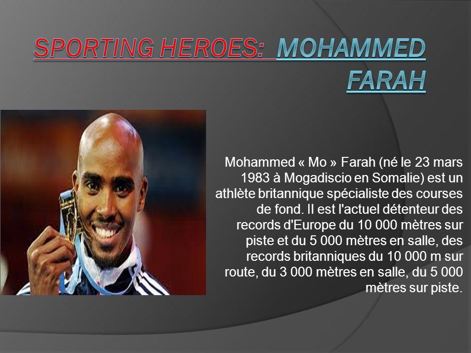 Sporting Heroes: Mohammed farah