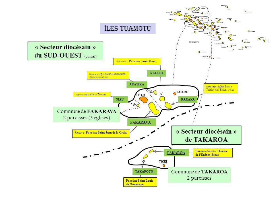 « Secteur diocésain » de TAKAROA