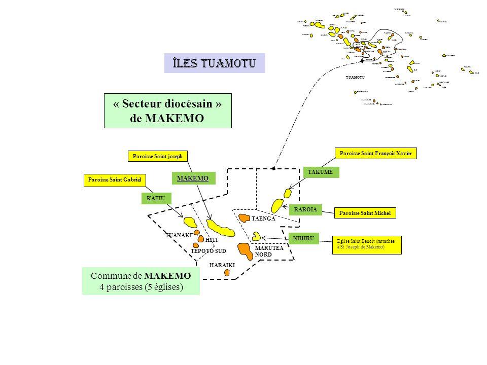 « Secteur diocésain » de MAKEMO