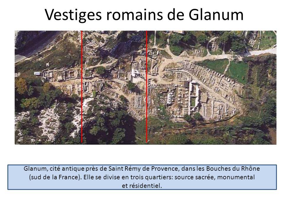 Vestiges romains de Glanum