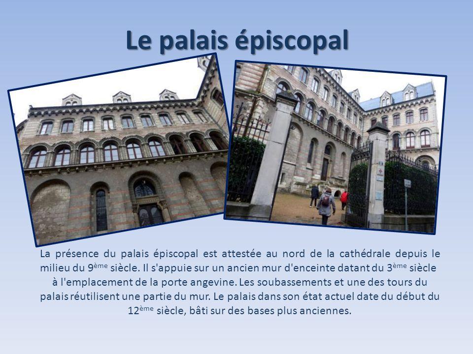 Le palais épiscopal