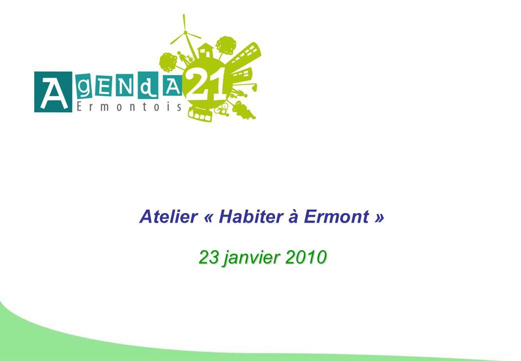 Atelier « Habiter à Ermont » 23 janvier 2010