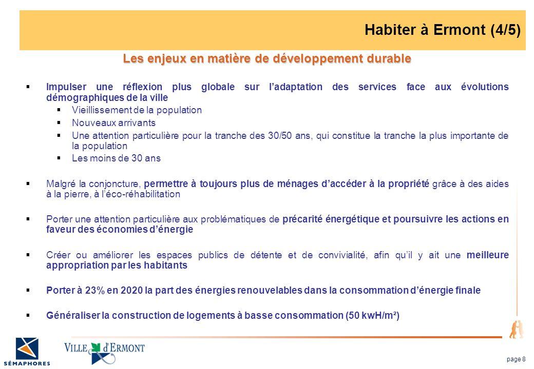 Les enjeux en matière de développement durable