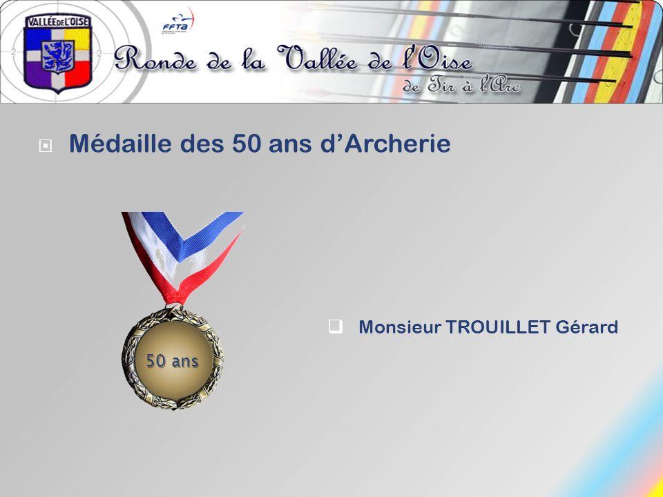 Médaille des 50 ans d'Archerie