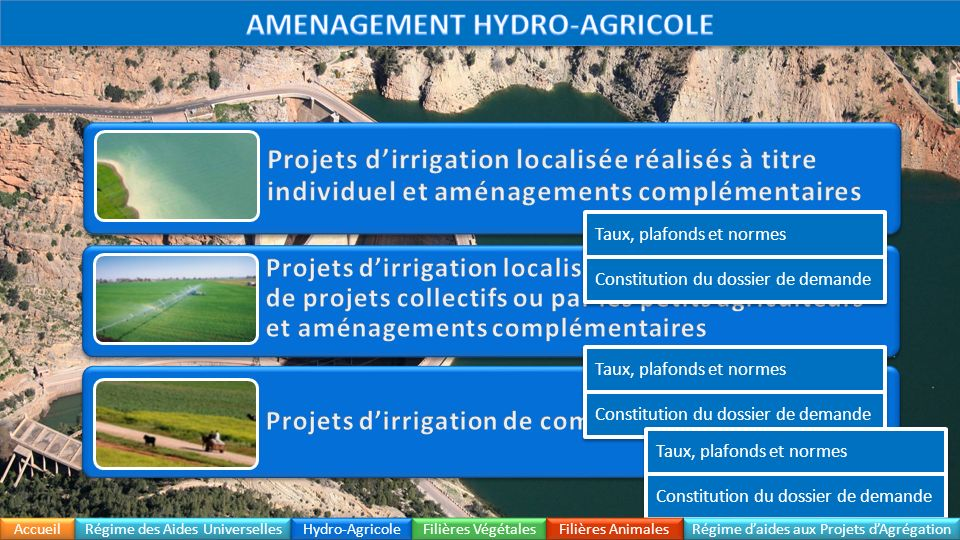 AMENAGEMENT HYDRO-AGRICOLE