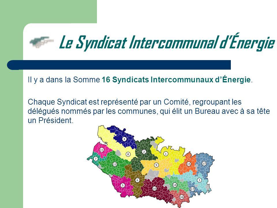 Le Syndicat Intercommunal d'Énergie