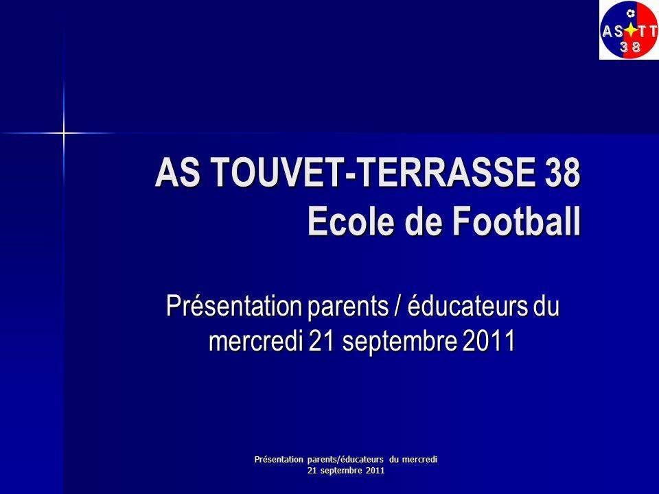 AS TOUVET-TERRASSE 38 Ecole de Football
