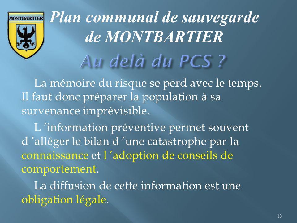 Plan communal de sauvegarde