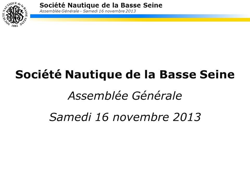 Société Nautique de la Basse Seine