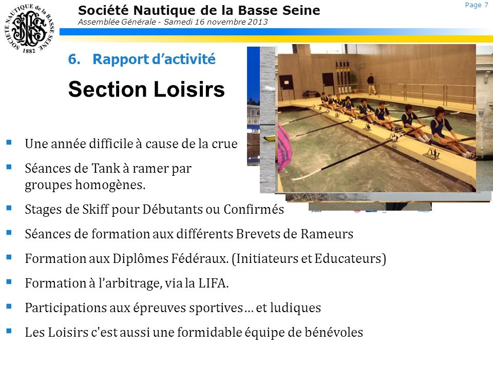 Section Loisirs Laurent Jolly